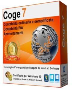 programma di contabilità semplificata ed ordinaria Coge7 Software Contabilità